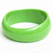 Jasno Zielona Plastikowa Bransoletka