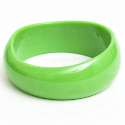 Light Green Plastic Bangle