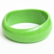 Green Plastic Bangle