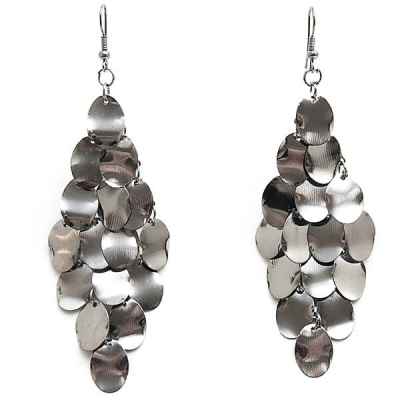 "Earrings ""Fish Scales"""