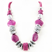 """Necklace """"Pink Mosaic"""""""