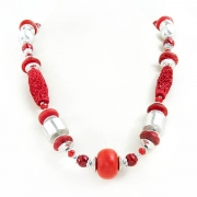 """Necklace """"Red Beads"""""""