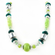 """Necklace """"Green Beads"""""""