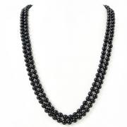 """Naszyjnik """"Classic Black Pearls"""""""