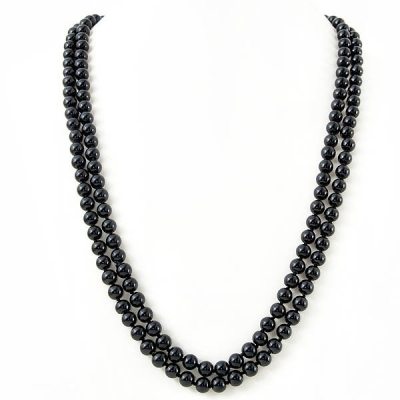 """Necklace """"Classic Black Pearls"""""""