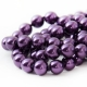 """Necklace """"Classic Violet Pearls"""""""