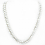 """Necklace """"Classic White Pearls"""""""