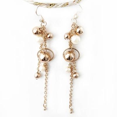 """Earrings """"Golden Grapes"""""""