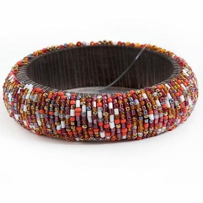 Bangle of beads