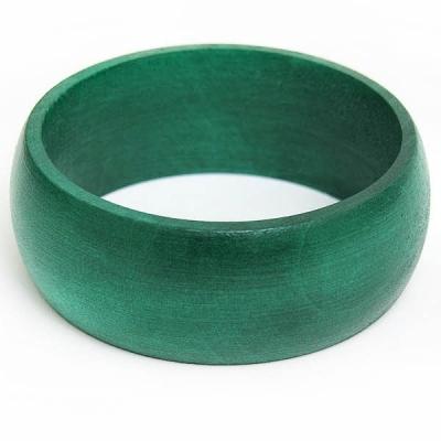 Turquoise Wooden Bangle