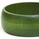Green Wooden Bangle