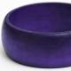 Violet Wooden Bangle
