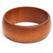 Pale Brown Wooden Bangle