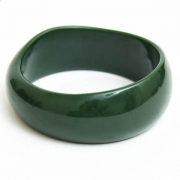 Dark Green Plastic Bangle