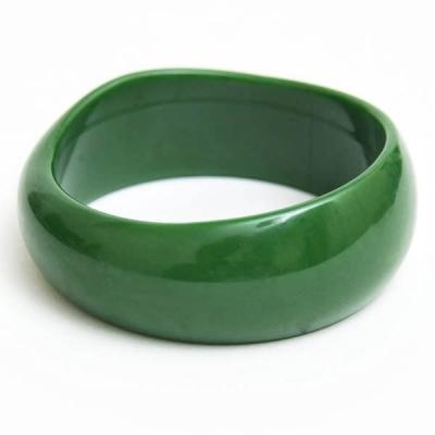 Green Plastic Bangle