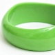 Light Green Plastic Bangle