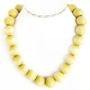 """Necklace """"Yellow Beads"""""""