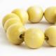 "Bangle ""Yellow Beads"""
