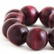 """Bransoletka """"Deep Red Beads"""""""