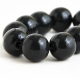 "Bangle ""Black Beads"""