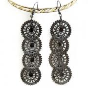 """Metal Earrings """"Rings"""""""