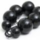 "Necklace ""Black Beads"""