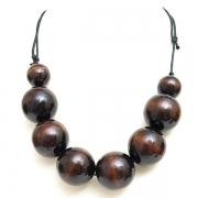 """Naszyjnik """"Brown Beads"""""""