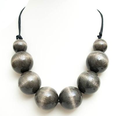 """Naszyjnik """"Grey Beads"""""""