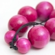"""Necklace """"Pink Beads"""""""