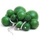 "Earrings ""Green Grapes"""