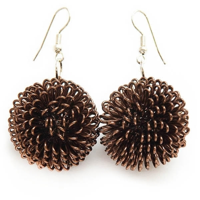 "Earrings ""Hedgehogs"""