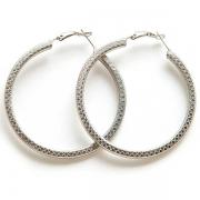 """Earrings """"Silver Rings"""""""