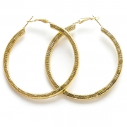 "Earrings ""Gold Rings"""
