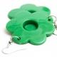 """Earrings """"Green Flower"""""""