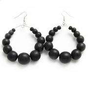 """Kolczyki """"Black Beads"""""""