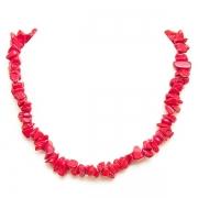 "Necklace ""Coral Stones"""