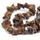 "Necklace ""Malachite Stones"""