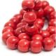 Czerwone korale i bransoletka