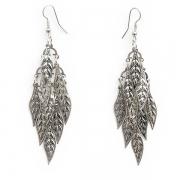 "Earrings ""Tiny Leaves"""