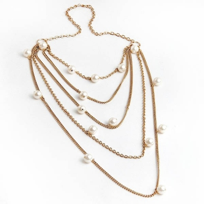 """Necklace """"PearlsNet"""""""