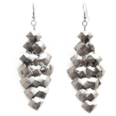 "Earrings ""Tiny Squares"""