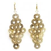 "Earrings ""Tiny Rings"""