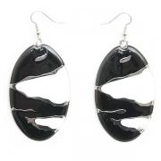 """Earrings """"Black & White"""""""