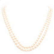 """Necklace """"Classic Beige Pearls"""""""