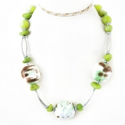 """Necklace """"Green Stone"""""""