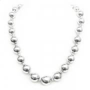 """Naszyjnik """"Silver Beads"""""""