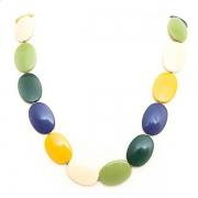 """Necklace """"Multicolour Pastilles"""""""